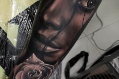 Tatuaje Retrato Chica Realista