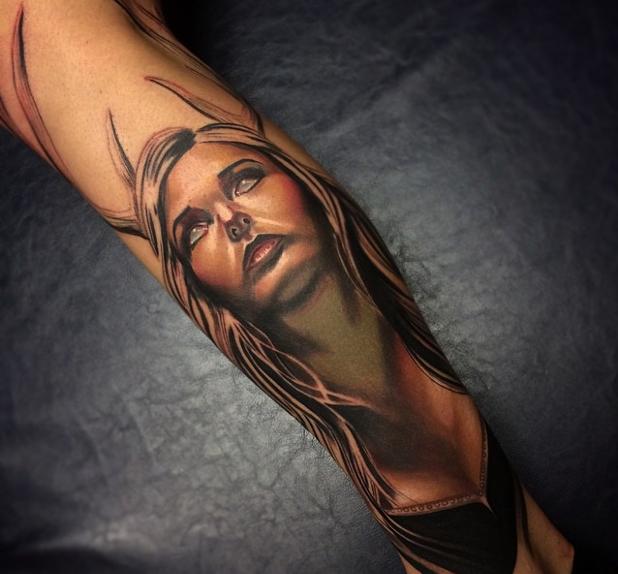 Tatuajes realistas Brent Olson