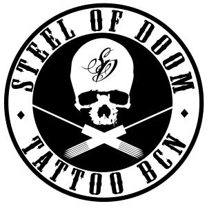 tattoo realista en barcelona steel of doom