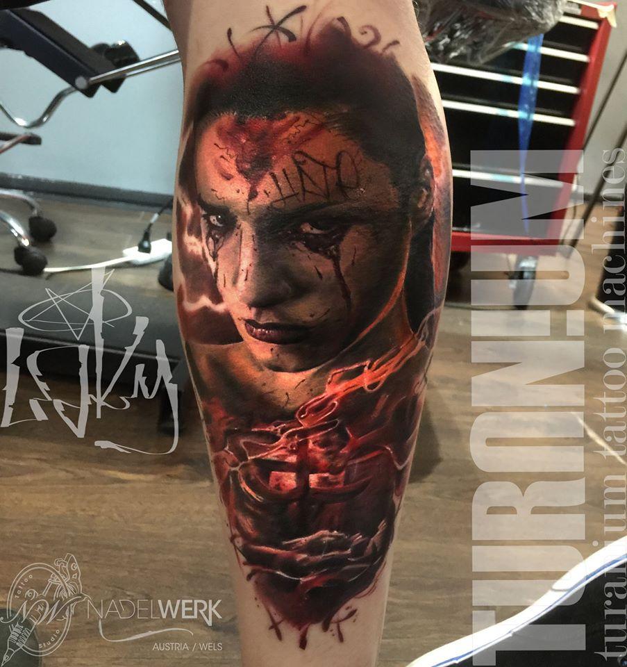 Tatuajes realismo terror realismo