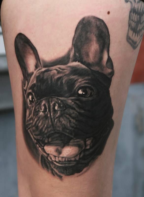 Tatuaje Bull Dog Frances