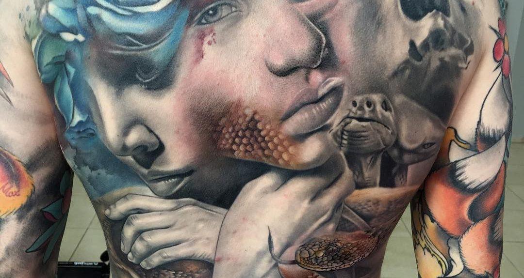 Jason Butcher tattoo realismo