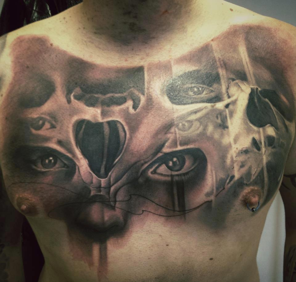 Tattoo realismo Jason Butcher