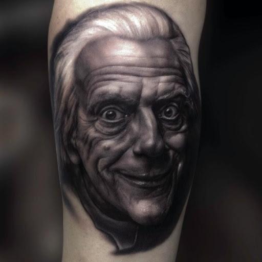 Ralf Nonnweiler tatuaje realista