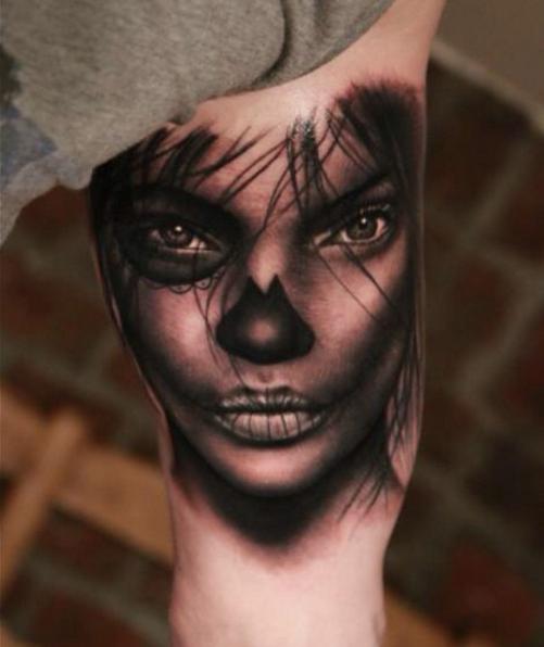 Tatuajes realistas por Georgi kodzhabashev