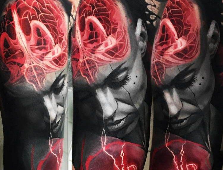 Andrey Kolbasin Tatuador realismo