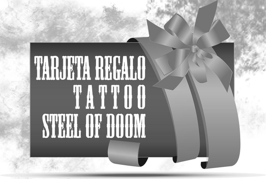 Vale por un tatuaje Tarjeta Regalo