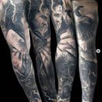 tattoo realista barcelona Tony Atichati