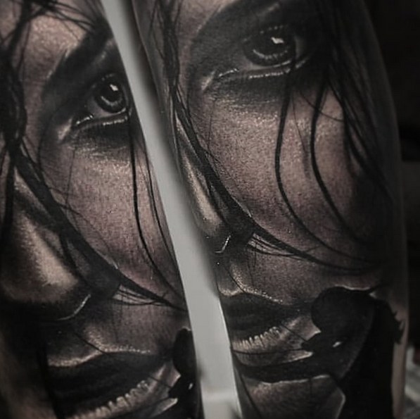 tatuajes realistas barcelona Tony Atichati