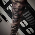 Tattoo realismo barcelona Manga finalizada