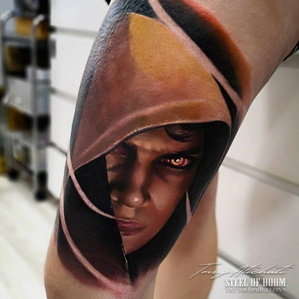 Tatuajes realistas de Cine