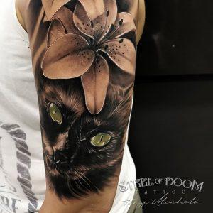 tatuaje-gato-negro-barcelona