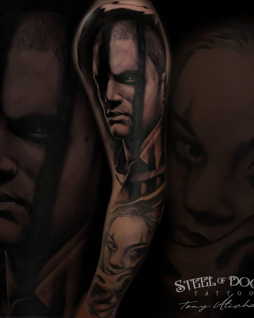 Tatuajes realistas tv prision break