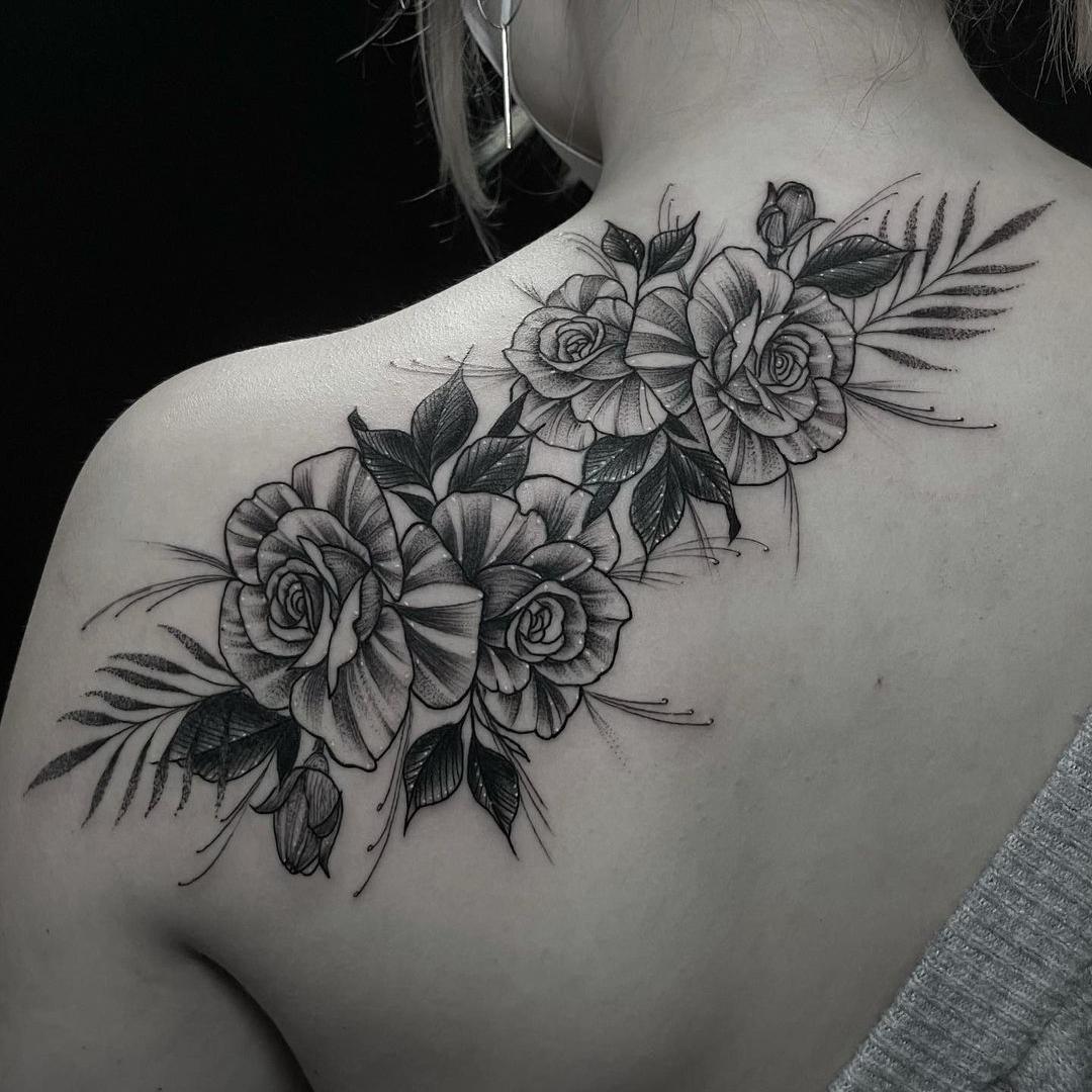 Victor Candiotti los mejores tatuadores en barcelona black work